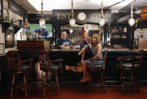 Homeowner buys an entire Irish bar to realize his basement