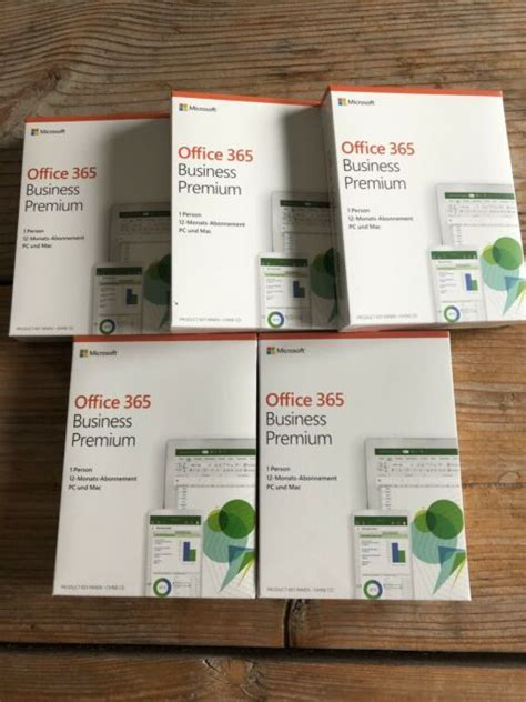 Microsoft Office 365 Business Premium Office-Software 1