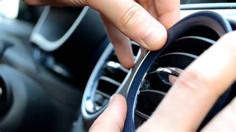 Remove and repair of the Opel Corsa D air vent grill - YouTube