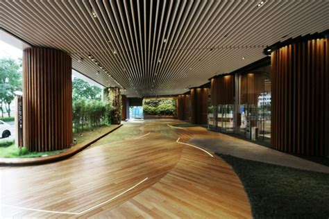» Green Office Lobby by 4N design architects, Hong Kong