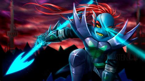 Undertale: Luta contra Undyne The Undyng (Battle Against A