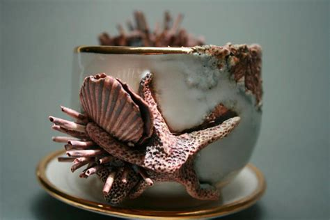 Bottom Feeders: Ceramic Objects Encrusted with Marine Life