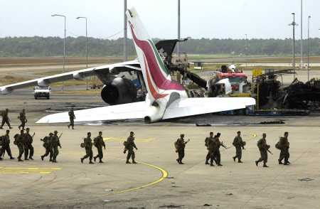 LTTE Attack Colombo Airport