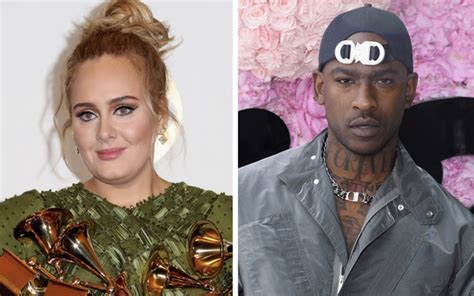 """Adele and Skepta Getting Close and Going on Dates; """"A"""