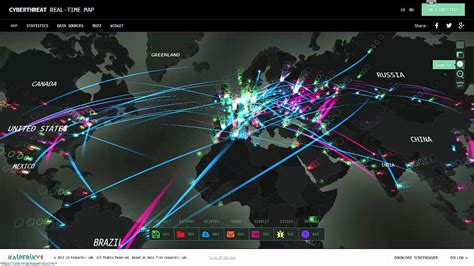 Real Time Cyber Threat Maps - YouTube