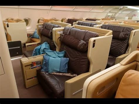 Singapore Airlines A380-800 Business class Singapore to