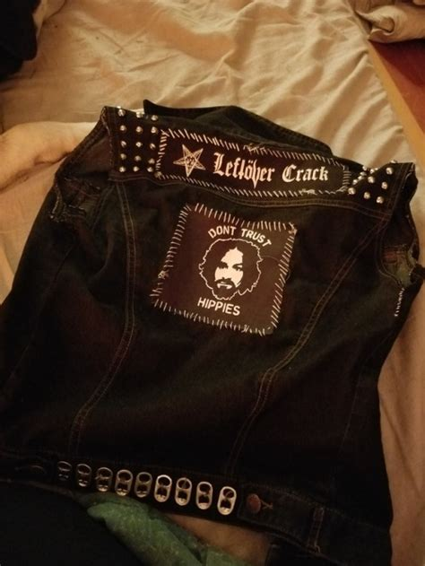Got started on my vest today :) too tired to keep