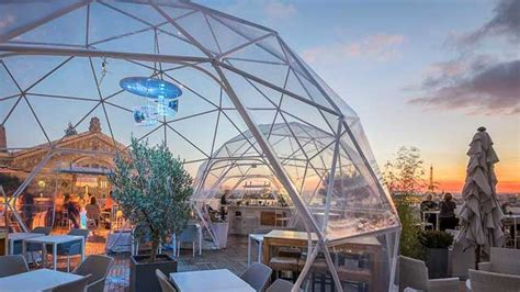 The Cube Bar at Galeries Lafayette - Rooftop bar in Paris