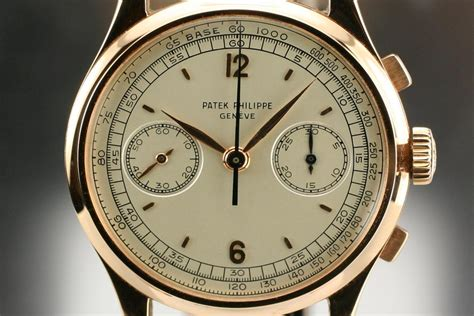 1950 Patek Philippe Chronograph Ref 530 Watch For Sale