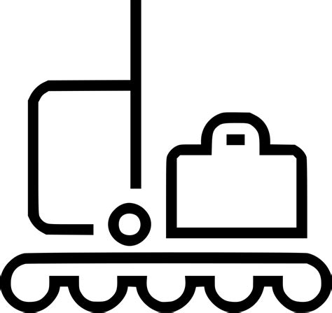 Luggage Baggage Suitcase Sorting Svg Png Icon Free