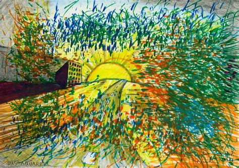 (The Watercolour Painting), 1987 by J