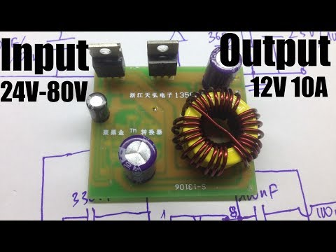 LM2596 Multiple Output Power Supply Module DC 5~40V to 3
