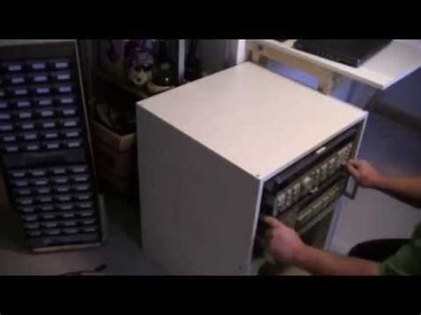 Build a 19 inch rack for $10 - IKEA LACK Hack - YouTube
