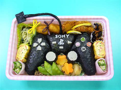 Geektastic Japanese Bento Lunch Sculptures Of Household