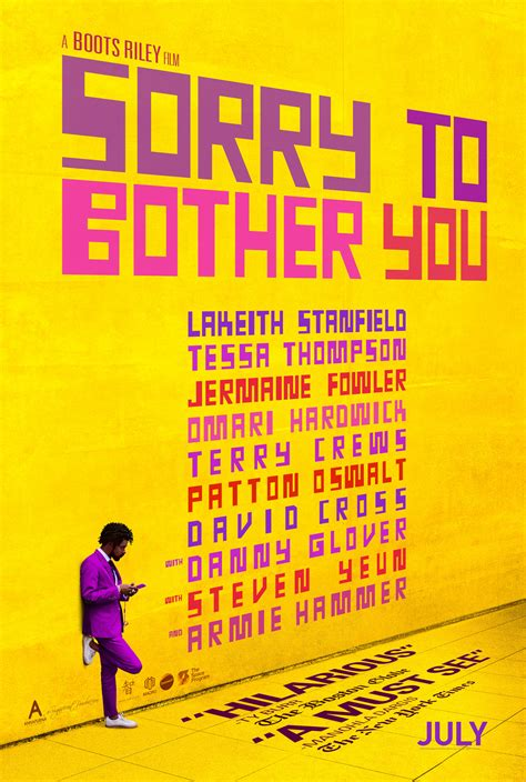 Exclusive: Director Boots Riley Talks 'Sorry To Bother You
