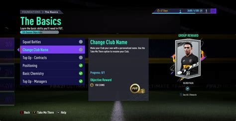 FIFA 21 Ultimate Team: How To Change Your Club Name