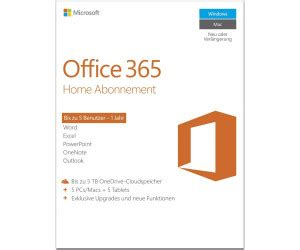 Buy Microsoft Office 365 Home from £66