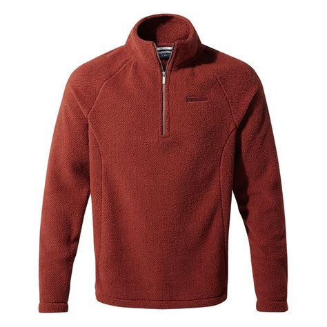 Craghoppers Barston 1/4 Zip Waffle Fleece - Mens from