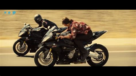BMW S1000RR IN MISSION IMPOSSIBLE 5 ROGUE NATION   HD 720p