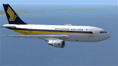 Singapore Airlines Airbus A310-222 OC for FSX