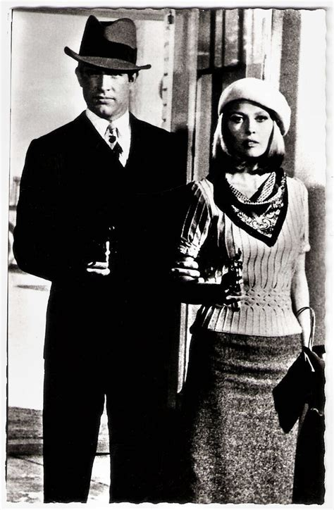 Warren Beatty and Faye Dunaway in Bonnie and Clyde | Flickr